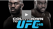 This is about more than just a belt: Jon Jones and Rashad Evans prepare for UFC 145, a grudge match between former training partners whose friendship has turned sour.