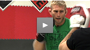 """I'm here to fight hard."" Alexander Gustafsson and Thiago Silva show off their striking skills at the UFC® on FUEL TV open workout."