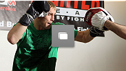 UFC® on Fuel TV open workouts at Pancrase Gym on April 11, 2012 in Stockholm, Sweden.  (Photos by Josh Hedges/Zuffa LLC/Zuffa LLC via Getty Images)