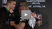 Alexander Gustafsson, Thiago Silva, Brian Stann and Alessio Sakara answer questions from the media at the UFC® on FUEL TV pre-fight press conference.