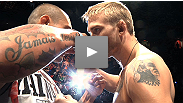 Watch the intense staredown between headliners Alexander Gustafsson and Thiago Silva at the UFC® on FUEL TV weigh-in.