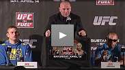 Watch  UFC Gustafsson vs Silva Post-fight Press Conference as the fighters and UFC President Dana White recap the night of fights.