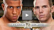 England's Jason Young is planning on getting his 2012 campaign off to a rousing start by beating Eric Wisely. Yet while Young's confidence is high, Iowa's Wisely, a 27-year old veteran with nearly 20 wins to his name, doesn't get rattled too easily.