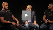 Former training partners Jon Jones and Rashad Evans engage in a war of words before their war in the Octagon at UFC 145. UFC Ultimate Insider host Jon Anik moderates a debate that quickly escalates into heated verbal combat.