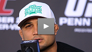 Legendary UFC fighter and former lightweight champion, BJ Penn, joined UFC Analyst, Karyn Bryant after an electrifying night of MMA to discuss his future with the UFC.