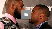 UFC® 145: Jon Jones vs. Evans Pre-fight Press Conference at Park Tavern on April 18, 2012 in Atlanta, Georgia.  (Photo by Kevin C. Cox/Zuffa LLC/Zuffa LLC via Getty Images)