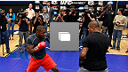 UFC® 145 Open Workouts Photo Gallery