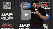 Poetry slams, ideal matchups, and hygiene products. It's never a dull moment when Chael Sonnen takes questions from fans at the UFC® 145 Q&A session.