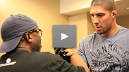 While other guys suffer on weigh-in day, heavyweights Brendan Schaub and Ben Rothwell enjoy breakfast. See what the process is like for the big guys.