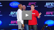 UFC president Dana White joins middleweight champion Anderson Silva and challenger Chael Sonnen for a special announcement from Rio.
