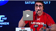 An acid-tongued Chael and an unamused Anderson sound off at the UFC 147-turned-UFC 148 press conference.