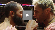 Johny Hendricks and Josh Koscheck weigh in for their co-main event at UFC&reg; on FOX.