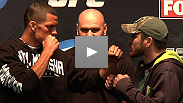 Watch some of the best moments from Dana White and the stars if UFC® on FOX at the pre-fight press conference.