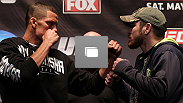 UFC on FOX conferencia de prensa previa en el Beacon Theatre el 3 de Mayo, 2012 en New York City.  (Fotos por Josh Hedges/Zuffa LLC/Zuffa LLC via Getty Images)