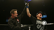 Dustin Poirier can't pick a favorite submission so he uses two at once to win his last fight at UFC 143.