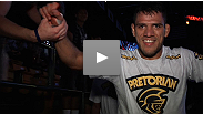 """That was the gameplan: finish the fight."" Rafael Dos Anjos notches the first finish of UFC® on FUEL TV, submitting Kamal Shalorus in the first round. Dos Anjos discusses the victory with UFC.com."