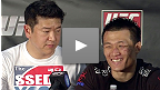 Coletiva pos-UFC: Korean Zombie vs Poirier