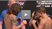 Watch the official weigh-in for the Ultimate Fighter Live Finale