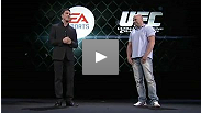 UFC president Dana White attends E3 in Los Angeles to announce a new video game deal between the UFC and EA SPORTS.