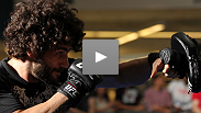 From low-maintenance mops to high-concept mullets to, oh yeah, a rematch with title contention on the line, the stars of UFC on FX entertain at open workouts.