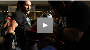 Fight-ending fists, flyweight-fast footwork and more skills are on display as the UFC on FX 3 stars take part in open workouts in South Florida.