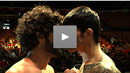 Watch the heated staredown between Erick Silva and Charlie Brenneman at the UFC® on FX weigh-in.