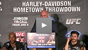 The UFC: Johnson vs McCall fighters respond to the press's questions after the night of fights.