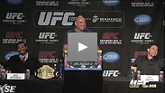 Watch the UFC 150 ticket on-sale press conference archive with Dana White, Benson Henderson and Frankie Edgar.