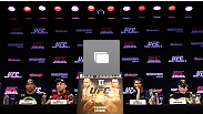 UFC 147 press conference at Ouro Minas Palace on June 21, 2012 in Belo Horizonte, Brazil.  (Photo by Josh Hedges/Zuffa LLC/Zuffa LLC via Getty Images)