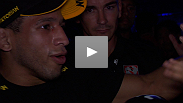 Hacran Dias outworks Yuri Alcantara to win his UFC4 debut. Hear his thoughts on the fight, his opponent, and why he felt the need to employ a conservative strategy.