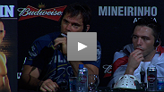 Rich Franklin answers questions from the media at the UFC® 147 post-fight press conference.
