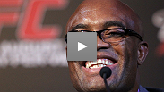 Anderson Silva w/ Ed Soares translating begins to fire back at Chael Sonnen&#39;s pre-fight trash talk.