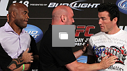 UFC 148 press conference at Lagasse's Stadium inside The Palazzo on July 3, 2012 in Las Vegas, Nevada.  (Photo by Josh Hedges/Zuffa LLC/Zuffa LLC via Getty Images)
