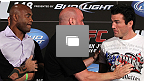 UFC&reg;148 Main Event Press Conference Photo Gallery