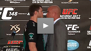 Watch the UFC 148 pre-fight press conference with Forrest Griffin vs. Tito Ortiz and Cung Le vs. Patrick Cote.