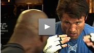Power, technique, creativity - the stars of the UFC 148 main card show their stuff at open workouts in Las Vegas.