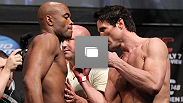 UFC® 148 weigh-in live at the Mandalay Bay Events Center in Las Vegas, Nevada on Friday, July 6 (Photos by Josh Hedges/Zuffa LLC/Zuffa LLC via Getty Images)