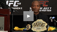 """The better man wins every time."" Hear what Anderson Silva and Chael Sonnen had to say at the UFC 148 post-fight press conference."