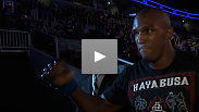Middleweight Francis Carmont and welterweight Aaron Simpson discuss their victories at UFC® on FUEL TV: Munoz vs. Weidman.