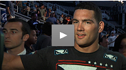 "Chris Weidman stays undefeated, knocking out Mark Munoz in spectacular fashion. Hear what ""The All-American"" had to say about the win, and future opponents."