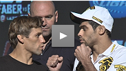 Ready for excitement? Bantamweights Urijah Faber and Renan Barao answer questions in advance of their title fight Saturday.