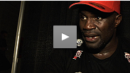 After grinding out a decision victory against late-replacement Shawn Jordan, Cheick Kongo discusses the win, and reveals why his performance was less than stellar.