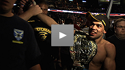 """This is the happiest moment in my life."" Renan Barao becomes the interim UFC® bantamweight champion with a dominating performance over Urijah Faber. the new champ talks about the feelings associated with the win."