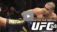 A champ was crowned, a hype train derailed and newcomers took on fearless vets -- catch all the action of Calgary's first UFC card with the UFC 149 replay.