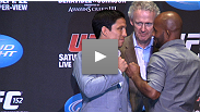 Hear from Joseph Benavidez, Michael Bisping, Demetrious Johnson, Brian Stann, and Rory MacDonald at the UFC® 152 on-sale press conference.