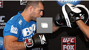 UFC on FOX open workouts at the J.W. Marriott on August 1, 2012 in Los Angeles, California. (Photos by Josh Hedges/Zuffa LLC/Zuffa LLC via Getty Images)