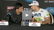 See the best moments from the UFC on FOX press conference with light heavyweights Shogun Rua, Brandon Vera, Lyoto Machida, and Ryan Bader.