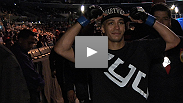Follow UFC® newcomer John Moraga on fight day, from arrival to post-victory clebration.