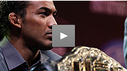 """I want to fight everybody in the division."" Watch some of the best moments from the UFC® 150 pre-fight press conference, featuring Benson Henderson, Frankie Edgar, Donald Cerrone and Melvin Guillard."