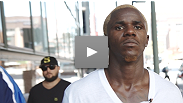 Watch UFC® lightweight Melvin Guillard in his first battle of the week - with the scale.